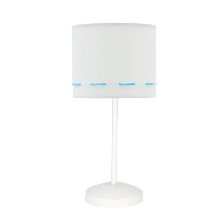 lampara de mesa infantil celeste