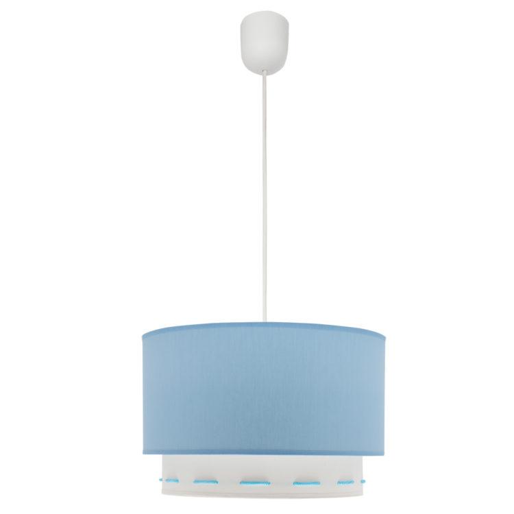 lampara azul celeste o azul cielo