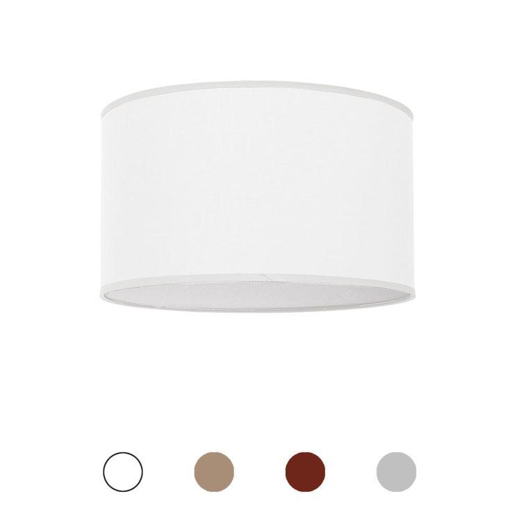plafon tela blanco nicole 30 cm