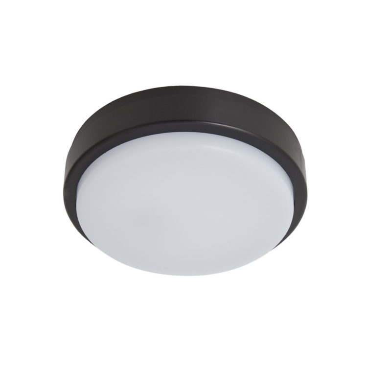plafon led ip65 negro exterior