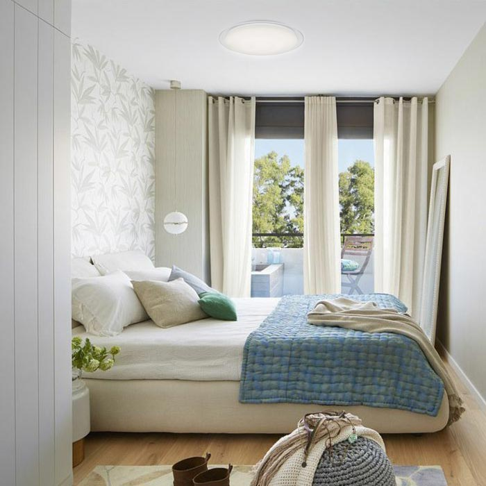 plafon starlight en dormitorio