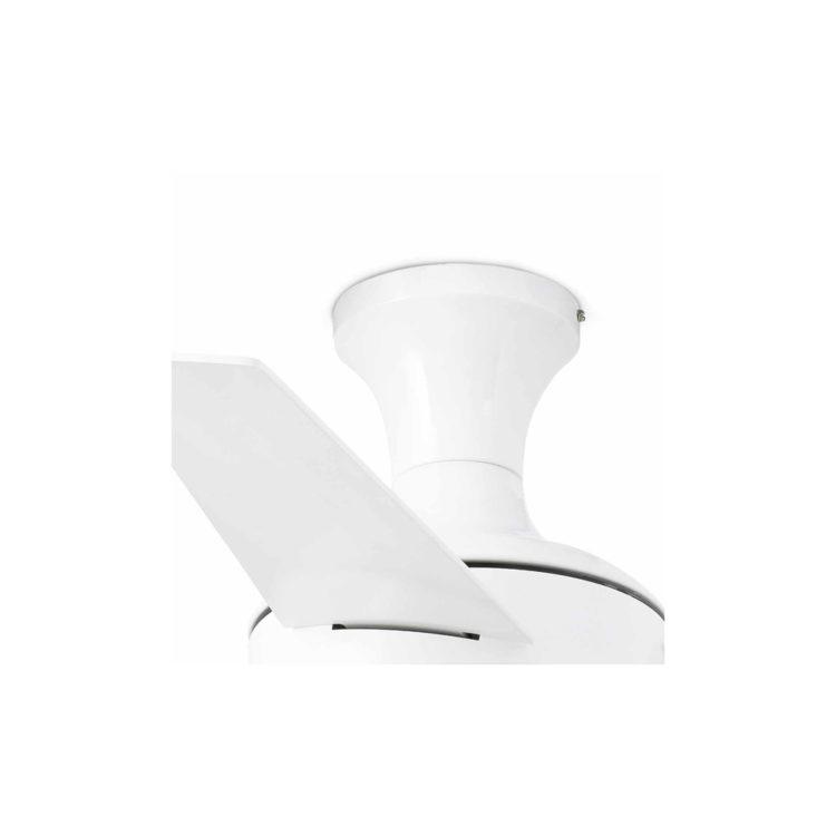detallle de ventilador blanco
