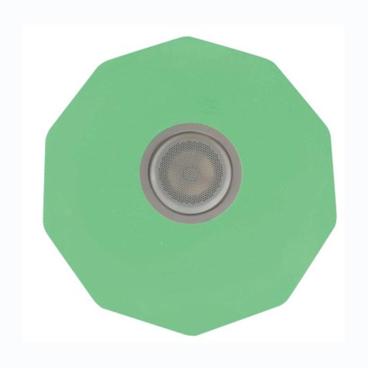 900740C - Todolampara - PLAFON BLANCO ROMBOS DECORACION ESTRELLAS RGB Y ALTAVOZ CON BLUETOOTH