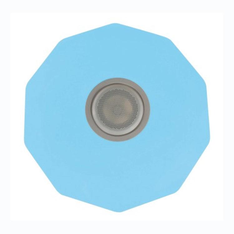 900740C1 - Todolampara - PLAFON BLANCO ROMBOS DECORACION ESTRELLAS RGB Y ALTAVOZ CON BLUETOOTH
