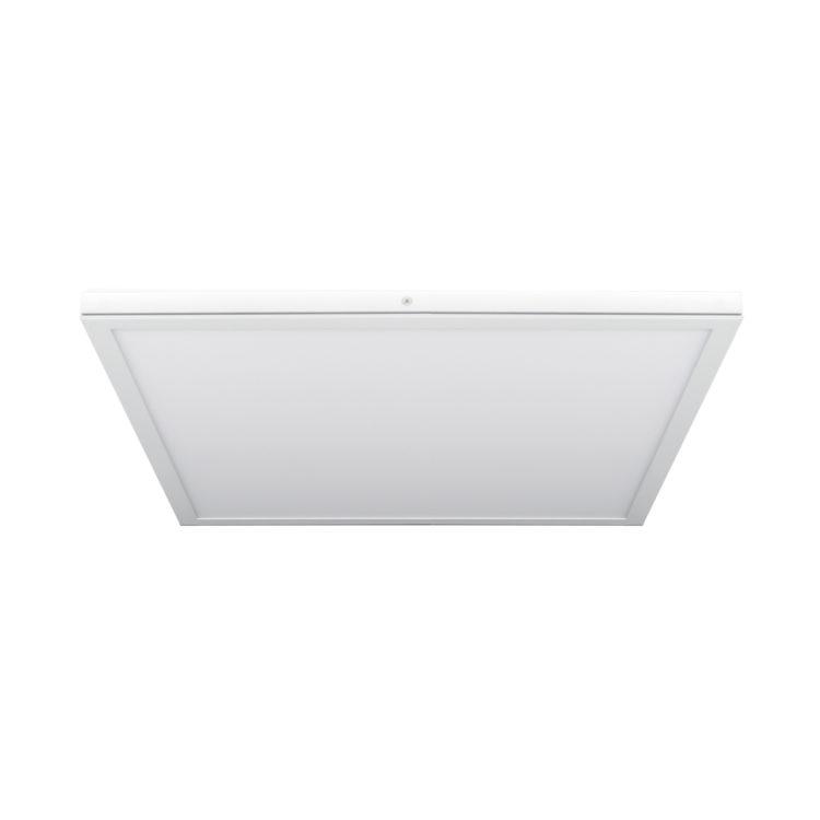 panel superficie led cuadrado blanco extraplano