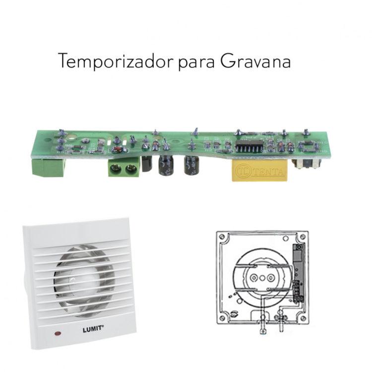 temporizador para extractor de baño