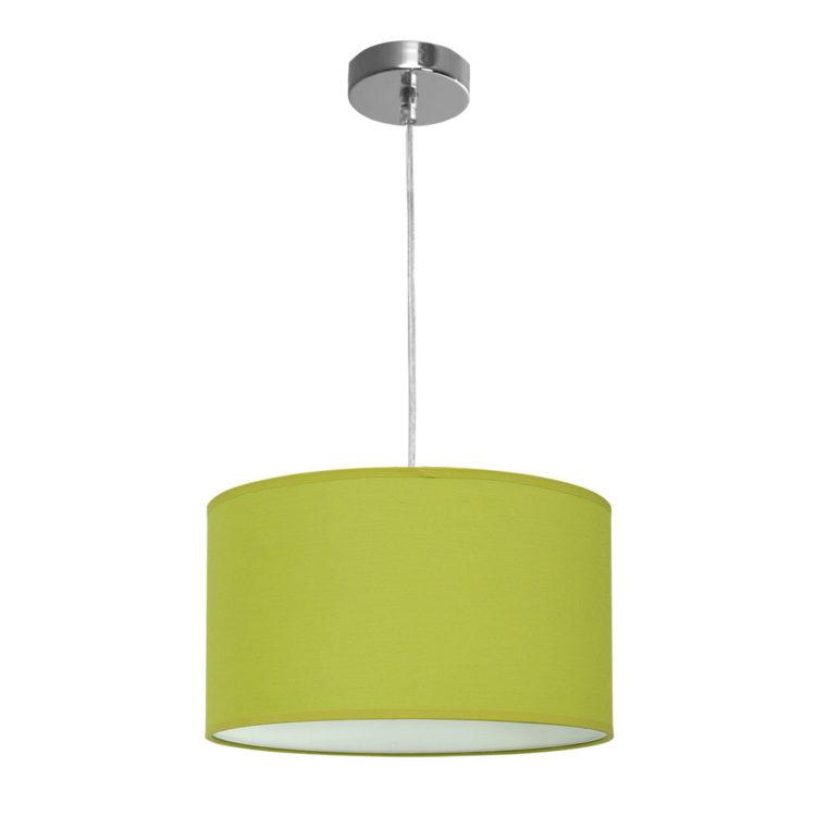 lampara nicole tela verde pistacho