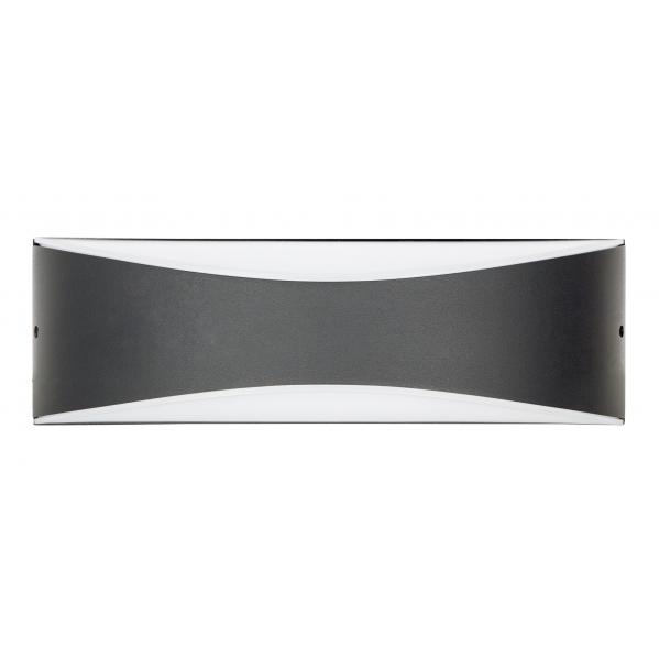 aplique exterior 10w 4000k cabril gris oscuro 1000lm 7 2x23x5 5 - Todolampara - Aplique Exterior 10w 4000k Cabril Gris Oscuro 1000lm 7,2x23x5,5