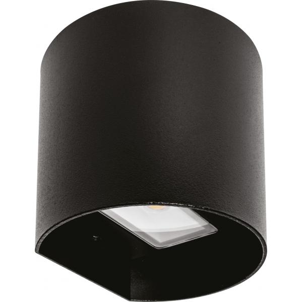 aplique exterior 8w 3000k sabor negro ip54 - Todolampara - Aplique Exterior 8w 3000k Sabor Negro Ip54