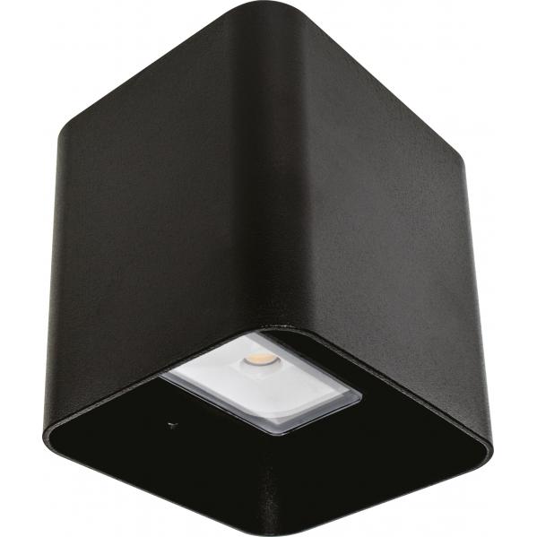 aplique exterior 8w 3000k soure negro ip54 - Todolampara - Aplique Exterior 8w 3000k Soure Negro Ip54
