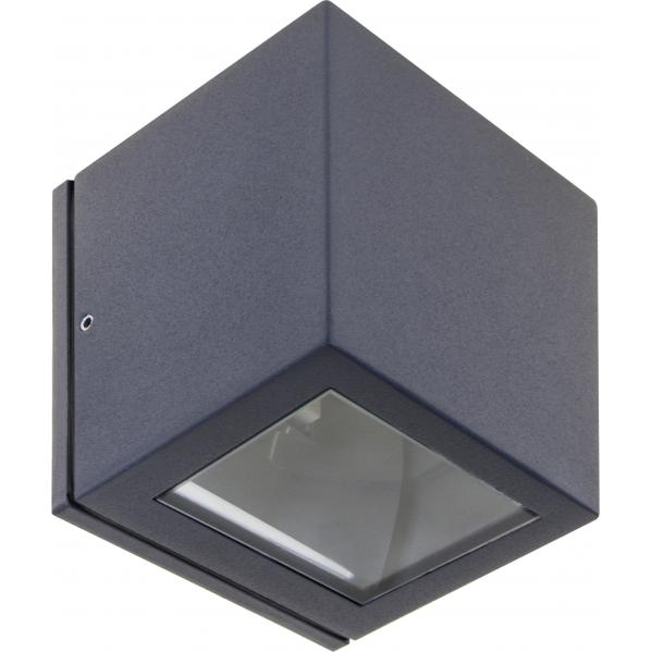 aplique exterior cavalum gris oscuro 1xg9 ip54 - Todolampara - Aplique Exterior Cavalum Gris Oscuro 1xg9 Ip54 10x9x9