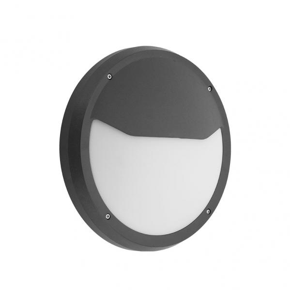 aplique exterior coliandro 1xe27 negro policarbonato 9 4x30d ip65 - Todolampara - Aplique Exterior Coliandro 1xe27 Negro Policarbonato 9,4x30d Ip65