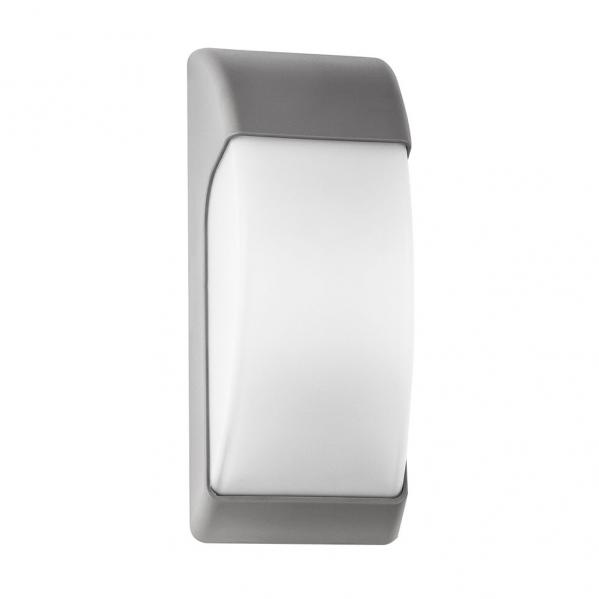 aplique exterior espelta 1xe27 gris ip65policarbonato 32x12 9x13 1 - Todolampara - Aplique Exterior Espelta 1xe27 Gris Ip65policarbonato 32x12,9x13