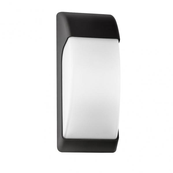 aplique exterior espelta 1xe27 negro ip65policarbonato 32x12 9x13 1 - Todolampara - Aplique Exterior Espelta 1xe27 Negro Ip65policarbonato 32x12,9x13