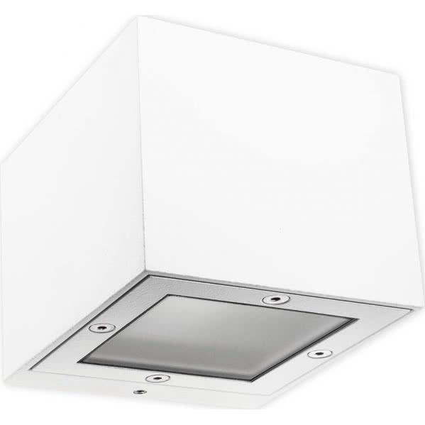 aplique exterior ginevra blanco 1xg9 ip65 - Todolampara - Aplique Exterior Ginevra Blanco 1xg9 Ip65 8x10x11
