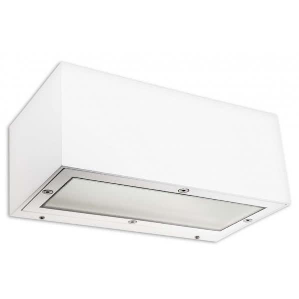 aplique exterior giulia blanco 1xe27 ip65 - Todolampara - Aplique Exterior Giulia Blanco 1xe27 Ip65 8x21x11