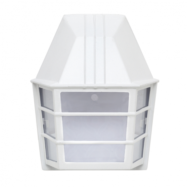 aplique exterior lavanda 1xe27 blanco 23 5x19 5x11 1 - Todolampara - Aplique Exterior Lavanda 1xe27 Blanco 23,5x19,5x11