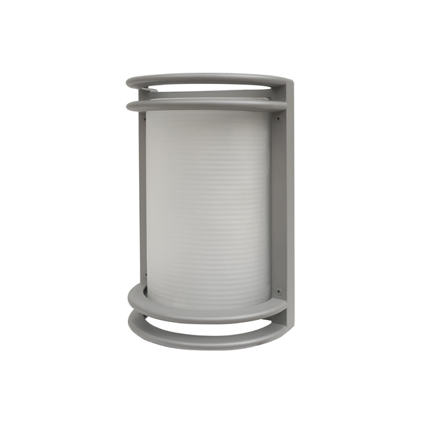 aplique exterior malva zinc 1xe27 - Todolampara - Aplique Exterior Malva Zinc 1xe27 (27x18x14)