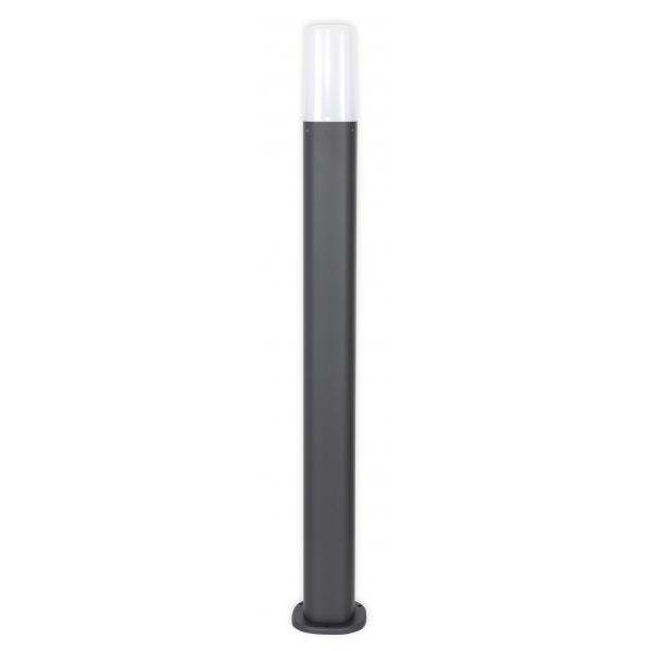 baliza exterior coura gris oscuro 1xe27 80 cm 44ip - Todolampara - Baliza Exterior Coura Gris Oscuro 1xe27 80 Cm 44ip