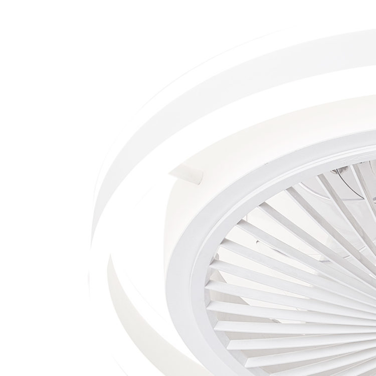 lampara de luz led regulable con ventilador