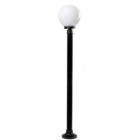 farola-exterior-med-ambiente-1xe27-negro-160cm