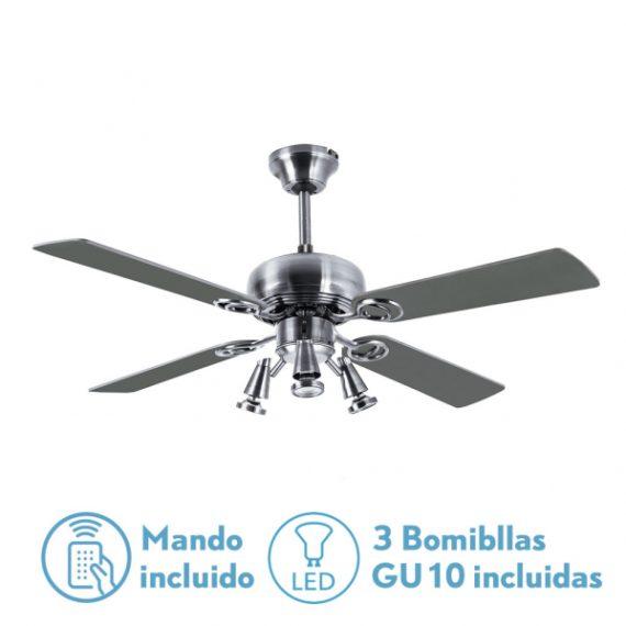 ventilador-galerna-niq-3-focos-gu10-led-4-aspas-haya-plata-107d-remoto-y-bomb-incluidas