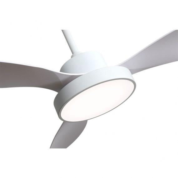 ventilador hayate 40w 3300lm blanco 3 asp 39x120x120cm 3000 4000 6000k c remoto 1 - Todolampara - Ventilador Hayate 40w 3300lm Blanco 3 Asp 39x120x120cm 3000-4000-6000k C/remoto