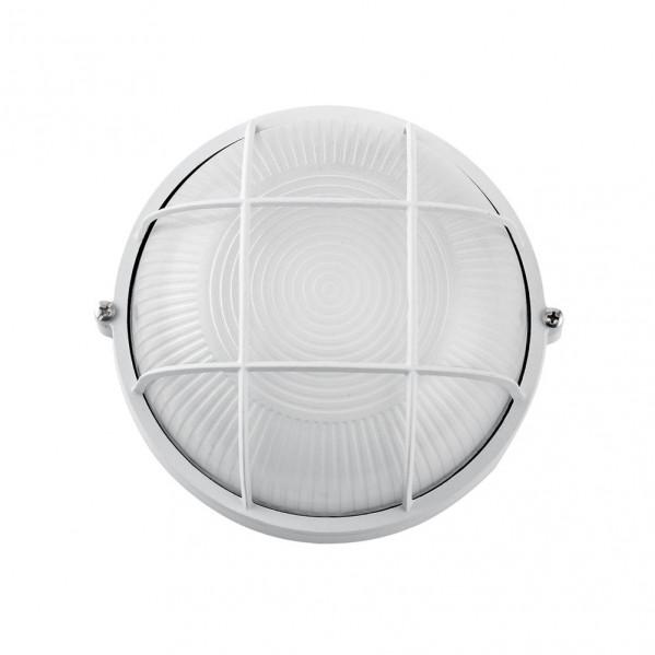 aplique ext aluminio apus pequeno 1xe27 blanco 17 5x17 5x9 cm ip44 - Todolampara - Aplique Ext. Aluminio Apus Pequeño 1xe27 Blanco 17,5x17,5x9 Cm Ip44