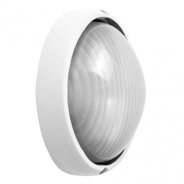 aplique ext aluminio vega grande 1xe27 blanco 32x20 5x11 cm ip44 - Todolampara - Aplique Ext. Aluminio Vega Grande 1xe27 Blanco 32x20,5x11 Cm Ip44