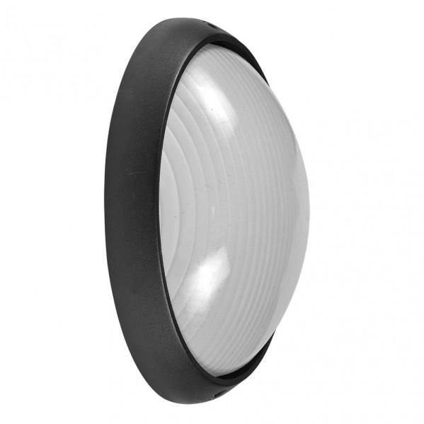 aplique ext aluminio vega grande 1xe27 negro 32x20 5x11 cm ip44 - Todolampara - Aplique Ext. Aluminio Vega Grande 1xe27 Negro 32x20,5x11 Cm Ip44