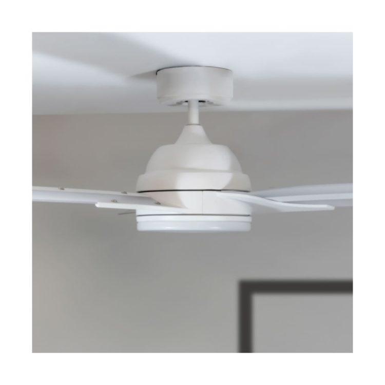 ventilador DC con luz central led integrado