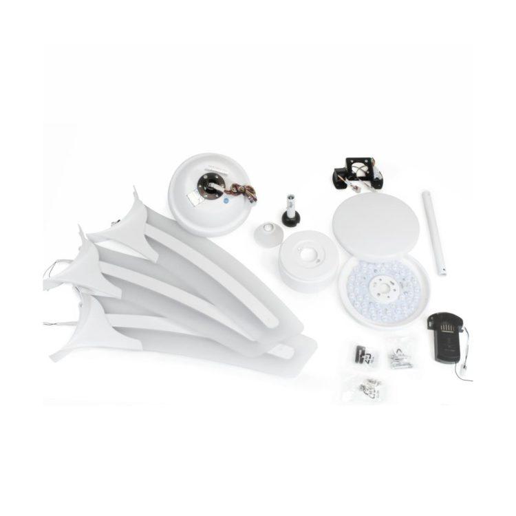 componentes ventilador de techo