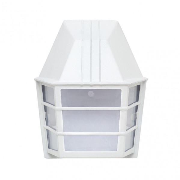 aplique exterior aluminio acrux 1xe27 blanco ip23 24x20x11 5 cm - Todolampara - Aplique Exterior Aluminio Acrux 1xe27 Blanco Ip23 24x20x11,5 Cm