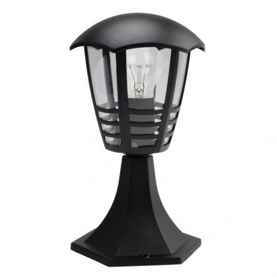 sobremuro-exterior-aluminio-alnilan-1xe27-negro-30x16x16-cm-ip44