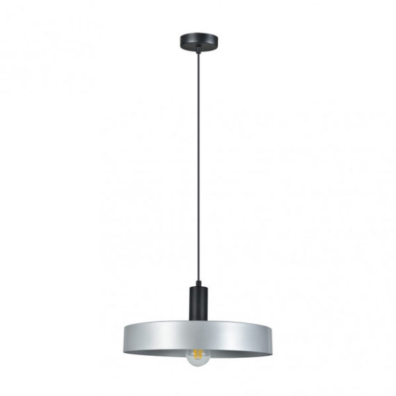 colgante-allende-1xe27-negro-plata-regx35x35