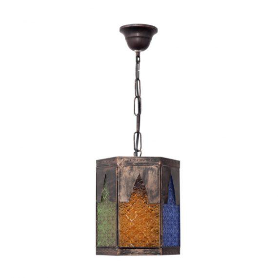 colgante-artesanal-meknes-1xe27-marron-colores-regx19-exagonal
