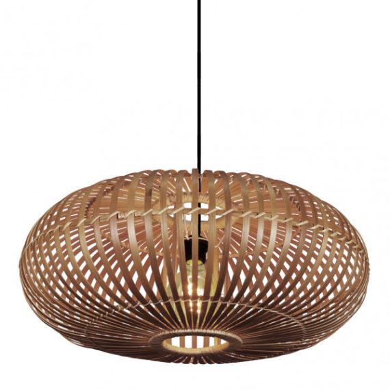 colgante bambu fargesia 1xe27 avellana regx60x60 cm 1 - Todolampara - Colgante Bambu Fargesia 1xe27 Avellana Regx60x60 Cm