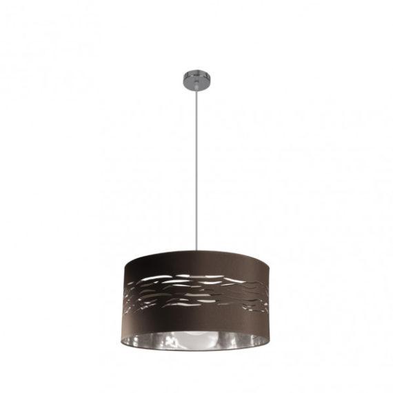 colgante-niebla-1xe27-cromo-marron-plata-regx40x40-cm