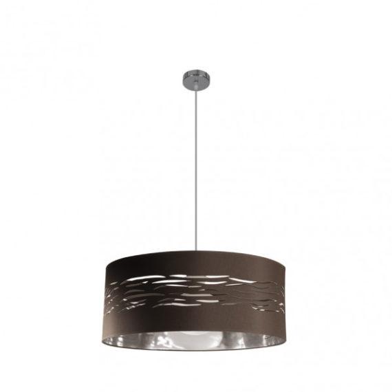 colgante-niebla-1xe27-cromo-marron-plata-regx50x50-cm